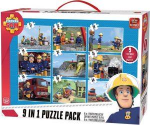 Puzzel brandweerman sam