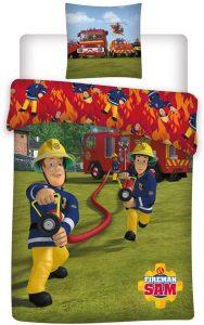 Dekbedovertrek brandweerman sam