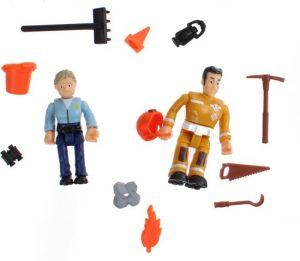 Speelfiguren brandweerman sam