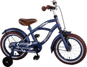 Black Friday Volare blauwe kinderfiets