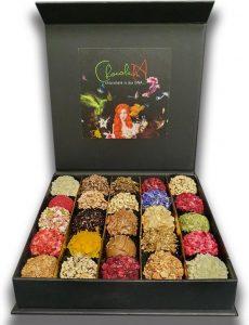 ChocolaDNA handgemaakte chocolade bonbons truffels luxe verpakking