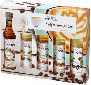 Monin Koffie siropen giftbox moederdag